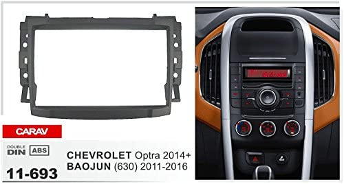 BAOJUN 630 2011-2016 with 17398mm//178100mm//178102mm Double Din In Dash Car Stereo Installation Kit Car Radio Stereo CD Player Dash Install Kit Compatible Optra 2014+