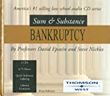 Sum and Substance Audio Set on Bankruptcy, Epstein, David G. and Nickles, Steve H., 0314170782