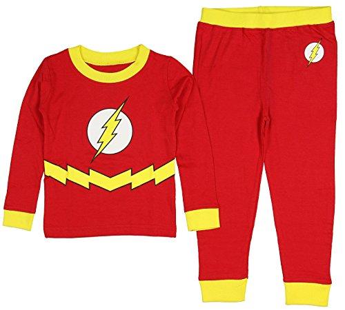 DC Comics Boys Toddler Flash Pajama Set