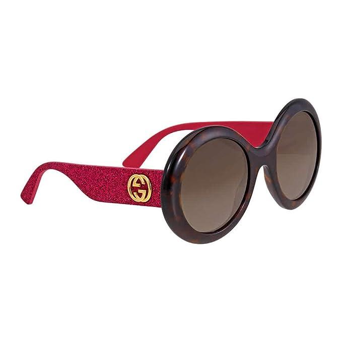 dc534e99b61 Gucci Round Glitter Pink Sunglasses  Amazon.ca  Clothing   Accessories