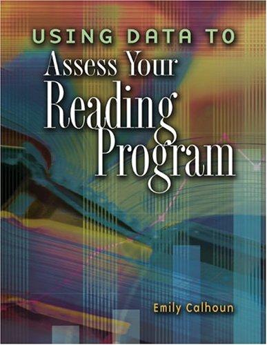 Using Data to Assess Your Reading Program