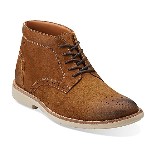 Clarks Mens Raspin Limite Lace Up Boot Tabac