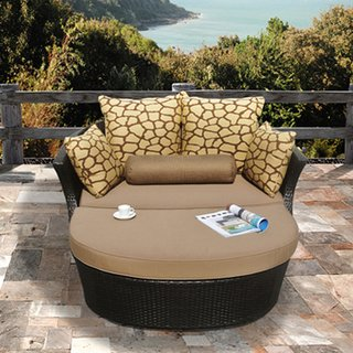 Exceptionnel Shotiva Modern Outdoor Sofa With Luxury Loveseat. This Two Piece Patio  Furniture Set Includes Ottoman