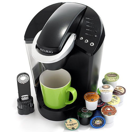 Keurig K45 Elite Brewing System, Black (Discontinued) by Keurig