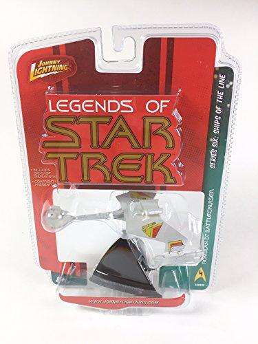 Star Trek Johnny Lightning Legends of Series 6: Ships Of The Line Romulan D7 Battlecruiser (Ship Romulan)