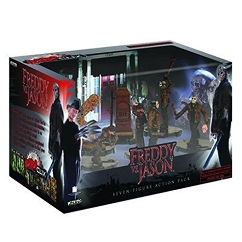 Wizkids Games Horrorclix Action Pack Freddy Vs. Jason]()