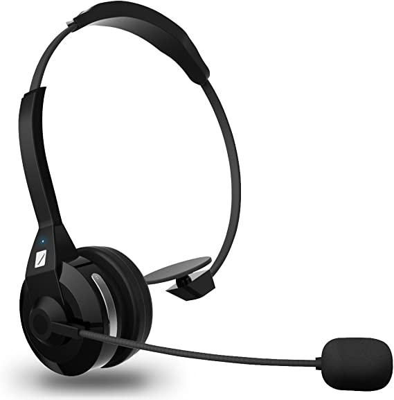 Bluetooth Headset Frieq Noise Canceling Wireless Bluetooth Headset With Microphone Multipoint Capabilities And 30 Hours