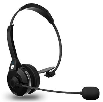 FRiEQ Auricular Bluetooth (4.0) Multifunción Inalámbrico con Cancelación de Ruido, 30 Horas de