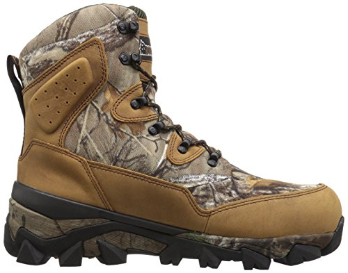 Rocky Hommes Rks0324 Botte Mi-mollet Brun Realtree Xtra Camouflage