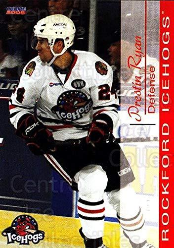 ((CI) Prestin Ryan Hockey Card 2007-08 Rockford Ice Hogs 21 Prestin Ryan)