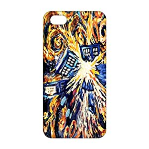 2015 Ultra Thin 3D Case Cover Abstract Art Doctor Who Phone Case for iPhone 5s