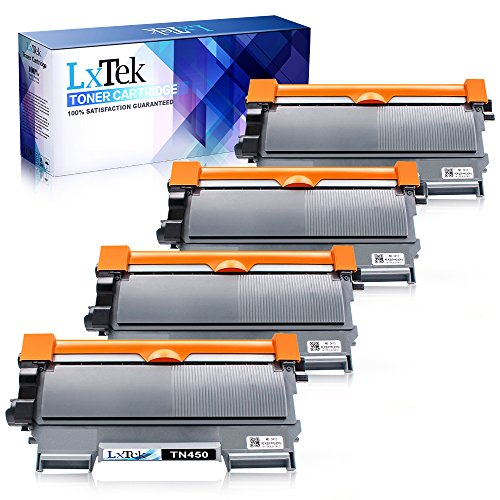 LxTek Compatible TN450 High Yield Toner Cartridge Replacement for Brother TN-450 TN420 (4 Black) Use for MFC-7360N DCP-7065DN IntelliFax 2840 2940 MFC-7860DW MFC-7460DN HL-2270DW MFC7240 Printer