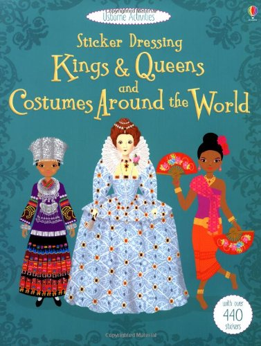 Sticker Dolly Dressing Costumes around the World & Kings and Queens ()
