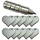zing cutting machine - Chomas Creations Silhouette Precision Tip and Metal Stamping Blanks, Hearts