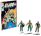 : GI Joe 3.75 Figure 3-Pack Value Pack #76 Tunnel Rat, General Abernathy and Flint