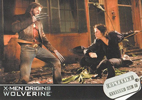 2009 X-Men Origins Wolverine Movie Trading Card #60 Logan/Remy LeBeau