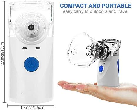 LHYCM Nebulizador Atomizador Inhalador De Mano Mini Cuidado de la ...