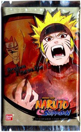 Naruto Shippuden Card Game Broken Promise Booster Pack [Toy ...