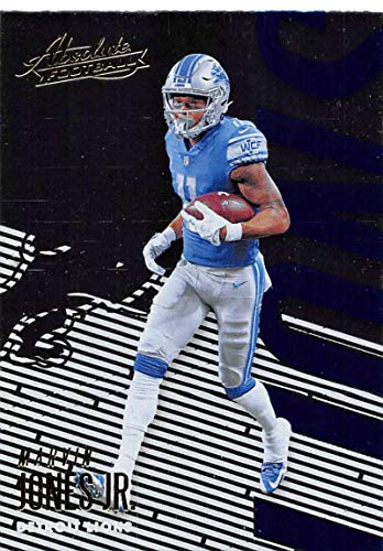 2018 Absolute Football #33 Marvin Jones Jr. Detroit Lions Official NFL Trading Card made by Panini ()