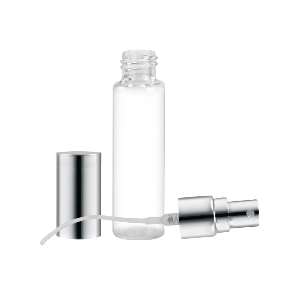 SHiZAK 10pcs 10ml Atomizer Glass Bottle Empty Liquid Containers Transparent Glass Portable Refillable Perfume Spray Bottle for Cosmetic Toiletries, Travel Party Portable Makeup Tool