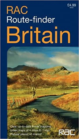 Rac Route Map Buy RAC Route Finder Map Britain (Road Map) Book Online at Low  Rac Route Map