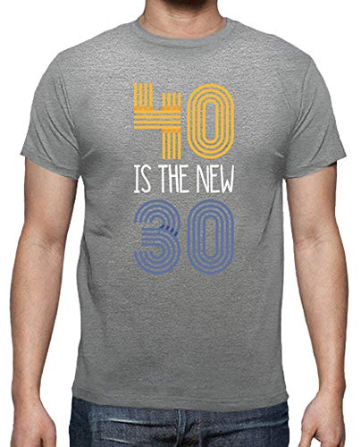 latostadora - Camiseta 40 Is The New 30, 1979 para Hombre