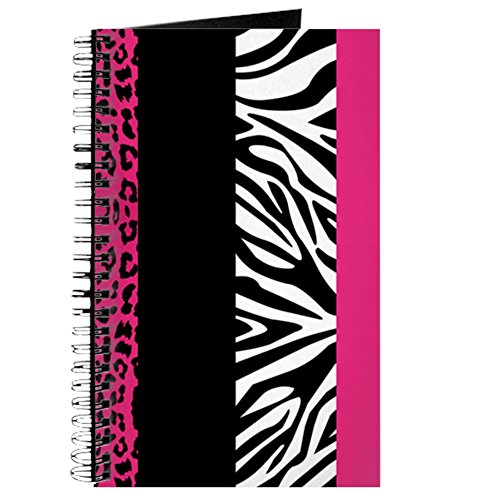 CafePress Stripes Leopard Notebook Personal