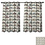 Best Norbi Curtains For Living Rooms - Kids Blackout Thermal Backed Curtains for Living Room Review