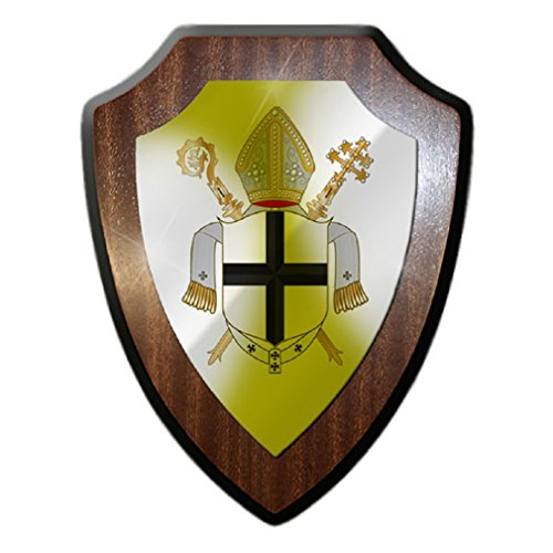 - Prince diocese Cologne Electorate of Cologne Archbishopric Holy Roman Empire coat of arms badge - Escutcheon / Wall Sign