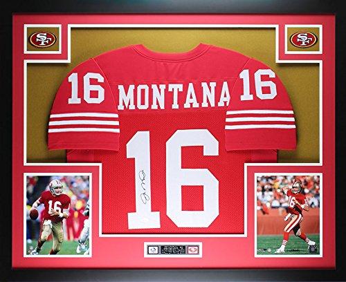 Joe Montana Framed - 3