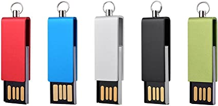 yaxiny 5 Pack 2.0 USB unidad Flash USB disco Memory Stick Wood USB Disk-4 16 gb: Amazon.es: Informática