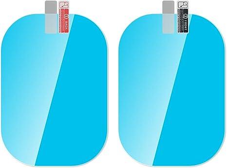 R/étroviseur de Voiture /étanche /à la Pluie Anti-bu/ée Convient /à Tous Les Mod/èles de Voiture WADEO 4PCS Voiture R/étroviseur Film de Protection 10 x 10 cm