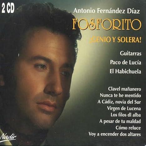 Genio Y Solera -Reed-: Fosforito / Paco De Lucia: Amazon.es: Música