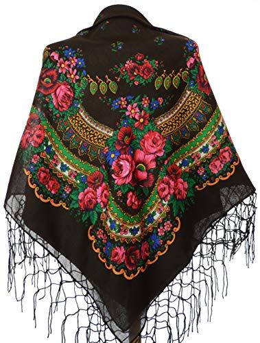 Ukranian Folk Dance Costumes - Shawl Fashion Ukrainian Fringed Wrap Polish