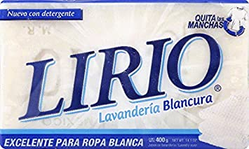 Lirio Laundry Soap White / Blanco 14.1 OZ (Pack of 25)