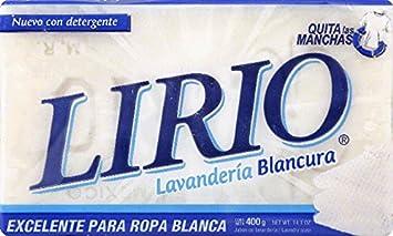 Lirio Laundry Soap White / Blanco 14.1 OZ (Pack of 25)