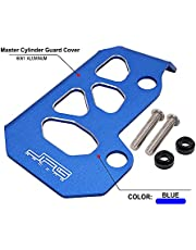 JFG RACING Motorcycle Master Cylinder Guard Cover Plate Protector CNC for Raptor 700 Raptor 700R 2015-2021