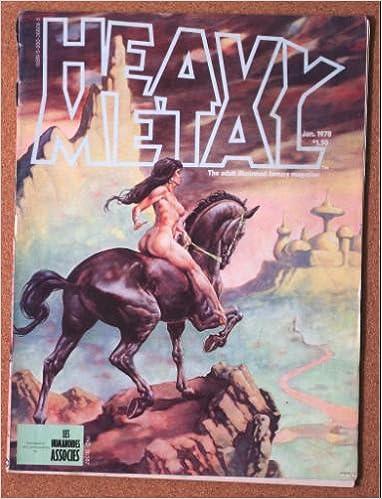 Heavy Metal Magazine, January 1978, Vol. I, No. 10