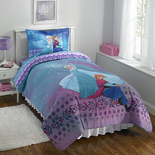 Disney Frozen Light Up The Sky Twin Comforter Set