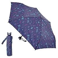 Ladies Compact Dog or Cat Design Umbrella