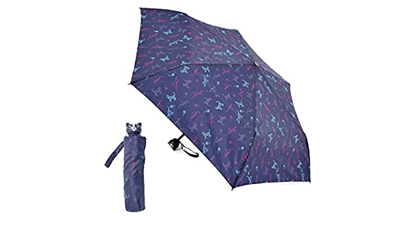 Amazon.com | Ladies Compact Dog or Cat Design Umbrella (Cats) | Umbrellas