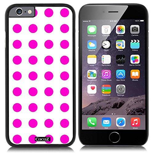 - CocoZ New Apple iPhone 6 s 4.7-inch Case Simple Lovely Polka Dot (Black PC & Polka Dot 5)