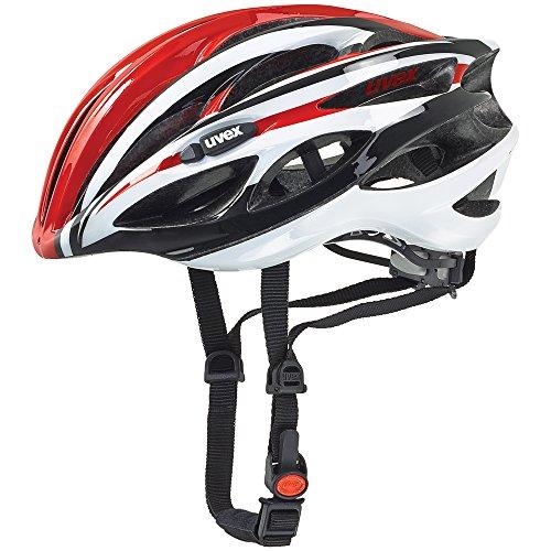- Uvex Race 1 Red-White-Black Helmet 2016