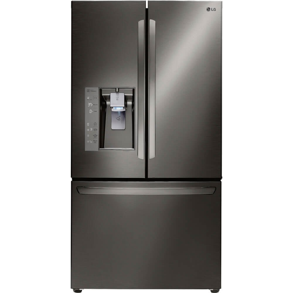 #5 rated in quiet: LG Diamond Collection 24 Cu. Ft. Refrigerator, scored 87/100