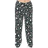 Marina Rinaldi Women's Regia Printed Pure Silk Pants 20W / 29 Green