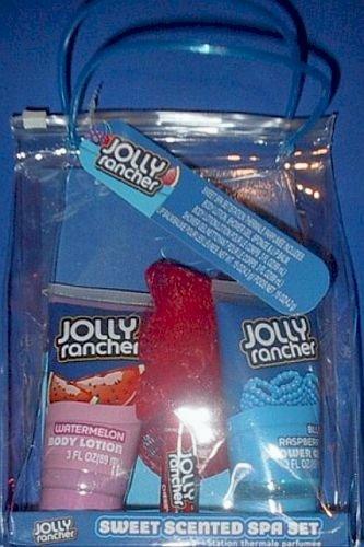 Spa Set 5 Piece (Jolly Rancher Bath & Body Sweet Scented Spa Set - 5 Piece)