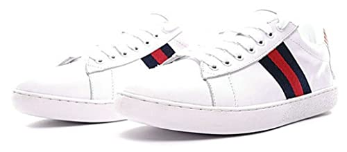 Gucci Ace Embroidered Low Top Tiger White Scarpa Uomo Donna  Amazon.it   Scarpe e borse 9bc55981be7