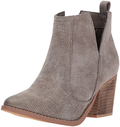 Not Rated Women's Shea Ankle Boot, Grey, 8 M US