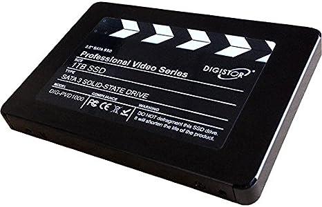 DIGISTOR 1 TB disco duro SSD profesional de vídeo para cámaras ...