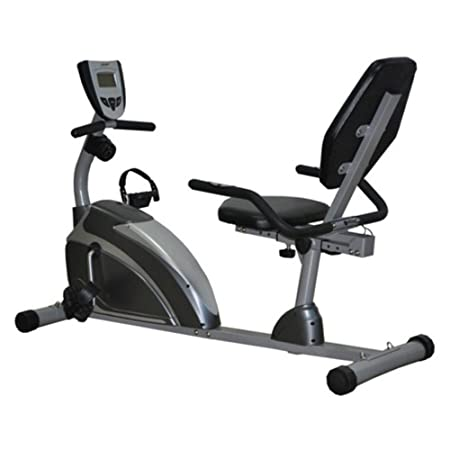 Exerpeutic 900XL Extended Capacity Recumbent Bike with Pulse